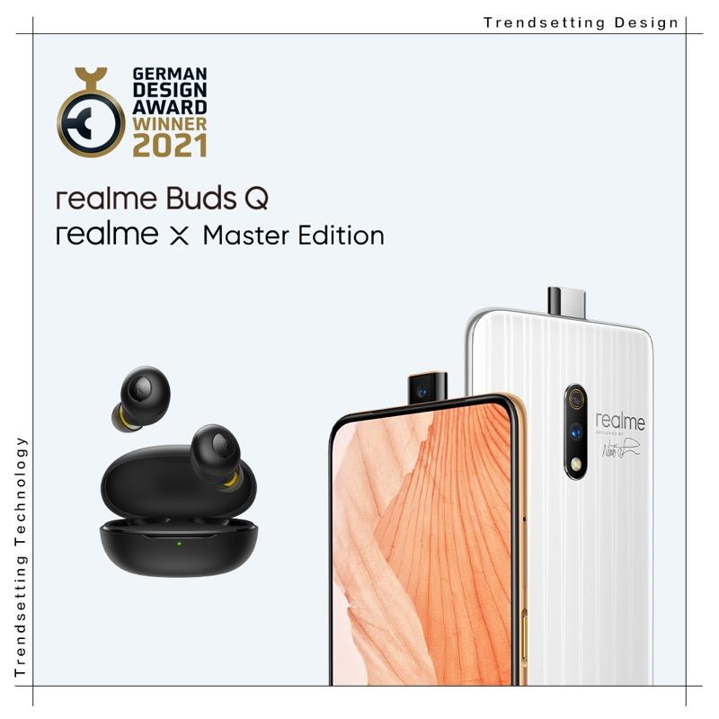 Una marca de teléfonos inteligentes que lleva el diseño a otro nivel - realme-buds-q-x-master-edition-german-design-award-800x800