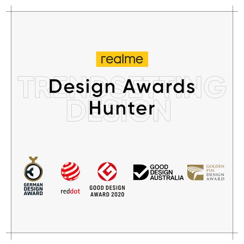 Una marca de teléfonos inteligentes que lleva el diseño a otro nivel - realme-design-awards-hunter-800x800