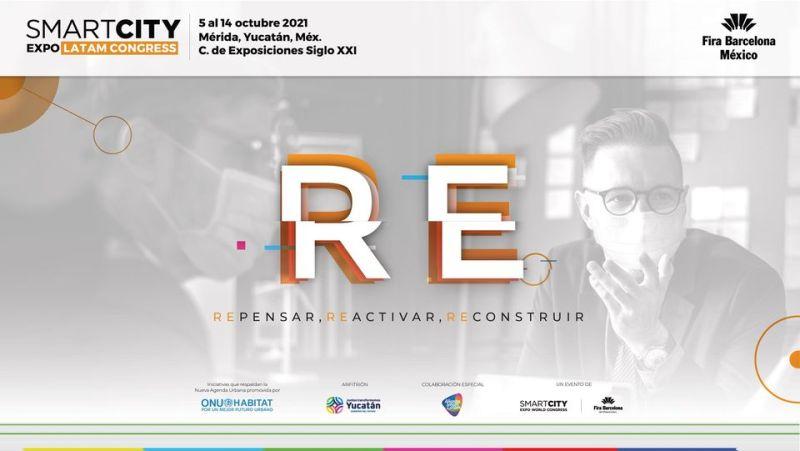 Smart City Expo Latam Congress 2021: evento que impulsa la reconversión y reactivación socioeconómica de América Latina - smart-city-expo-latam-congress-yucatan-800x451