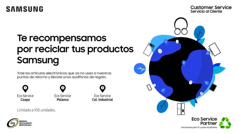 Eco Service, puntos de retorno para recolectar residuos electrónicos de productos Samsung - 1-1920-1080-1280x720
