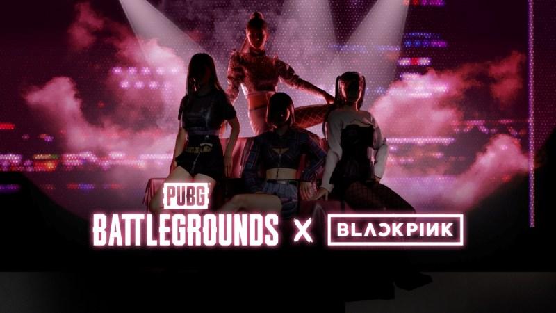 Todo sobre la colaboración PUBG: BATTLEGROUNDS x BLACKPINK