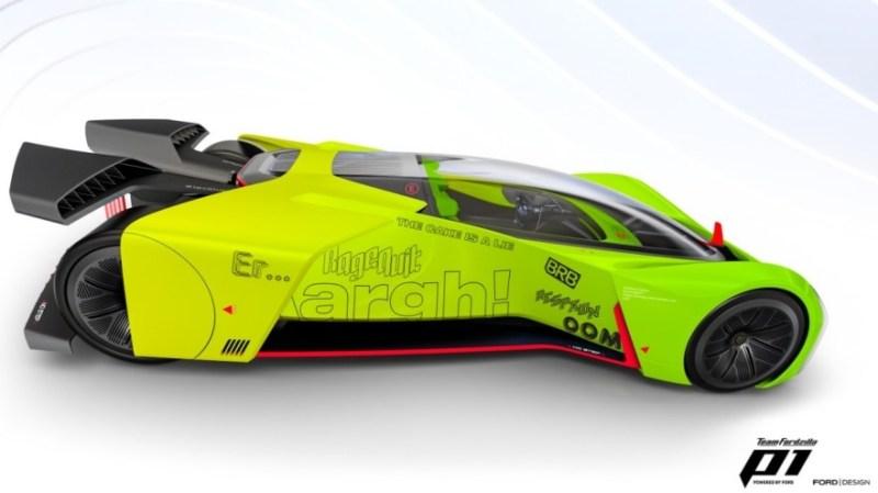 """Fordzilla anuncia el próximo proyecto """"Supervan"""" para su carrera virtual P1 - fordzilla-p1"""