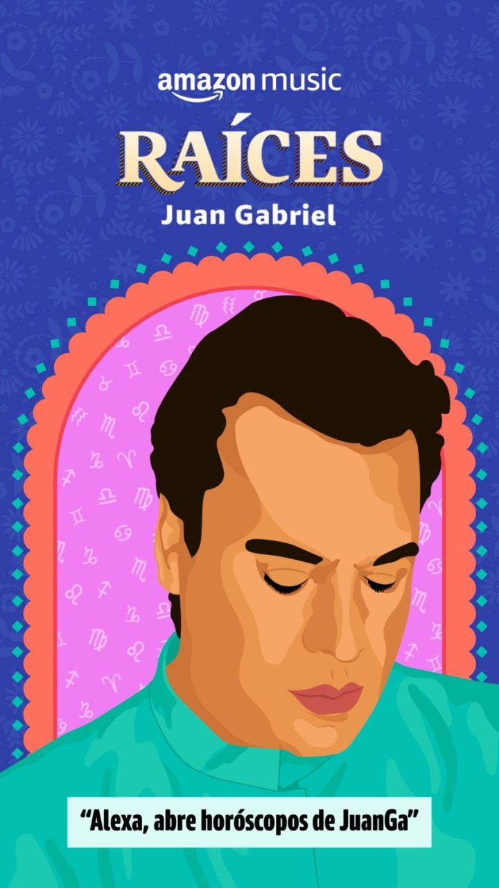 Amazon Music celebra los 50 años de carrera musical de Juan Gabriel
