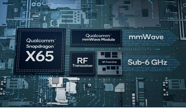Qualcomm completa la primera conexión de datos 5G mmWave del mundo - snapdragon-x65-qualcomm