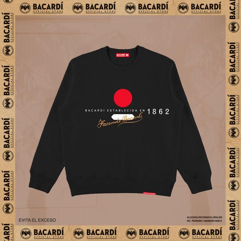 Bacardí lanza tienda oficial en línea - sudadera-bacardi-store