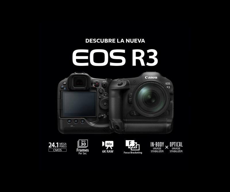 Canon EOS R3, cámara full frame mirrorless de gran velocidad y alto rendimiento - camara-eos-r3-canon-fotografia-accion
