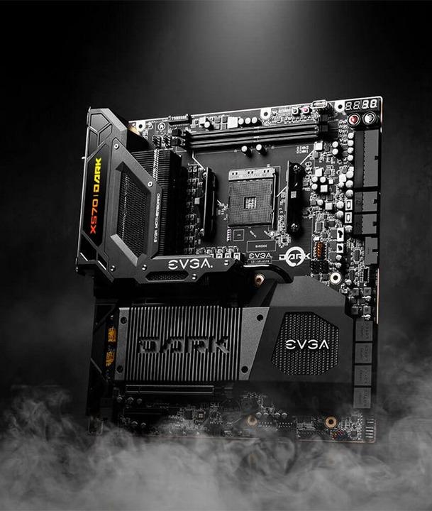 EVGA X570 DARK, diseñada para sacar el máximo rendimiento de los procesadores AMD Ryzen