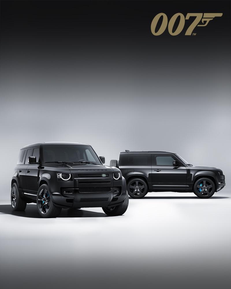Defender 110 V8 Bond Edition versión exclusiva basada en la película de James Bond llegará a México - land-rover-defender-v8-james-bond-5