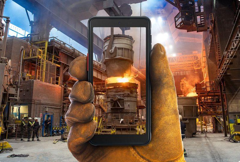 Galaxy XCover 5, un dispositivo resistente y diseñado para trabajos exigentes