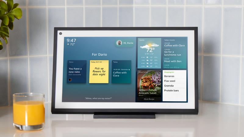 Echo Show 15: el nuevo dispositivo de Amazon que llegará a México !Conoce sus características! - echo-show-15-amazon-lifestyle