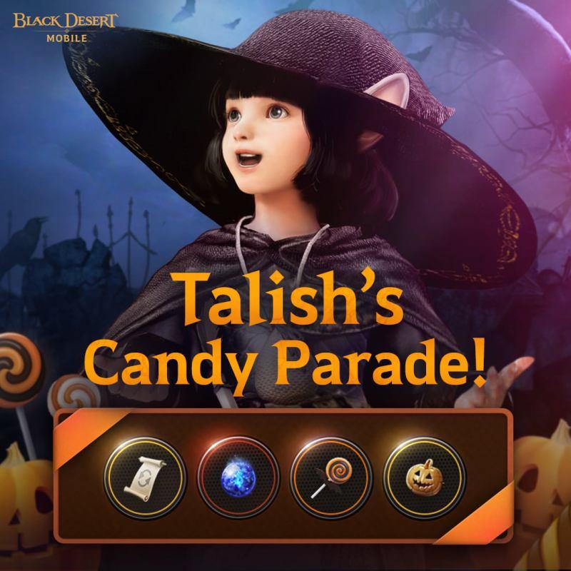 Los eventos de Halloween de Black Desert Mobile ¡ya están disponibles!