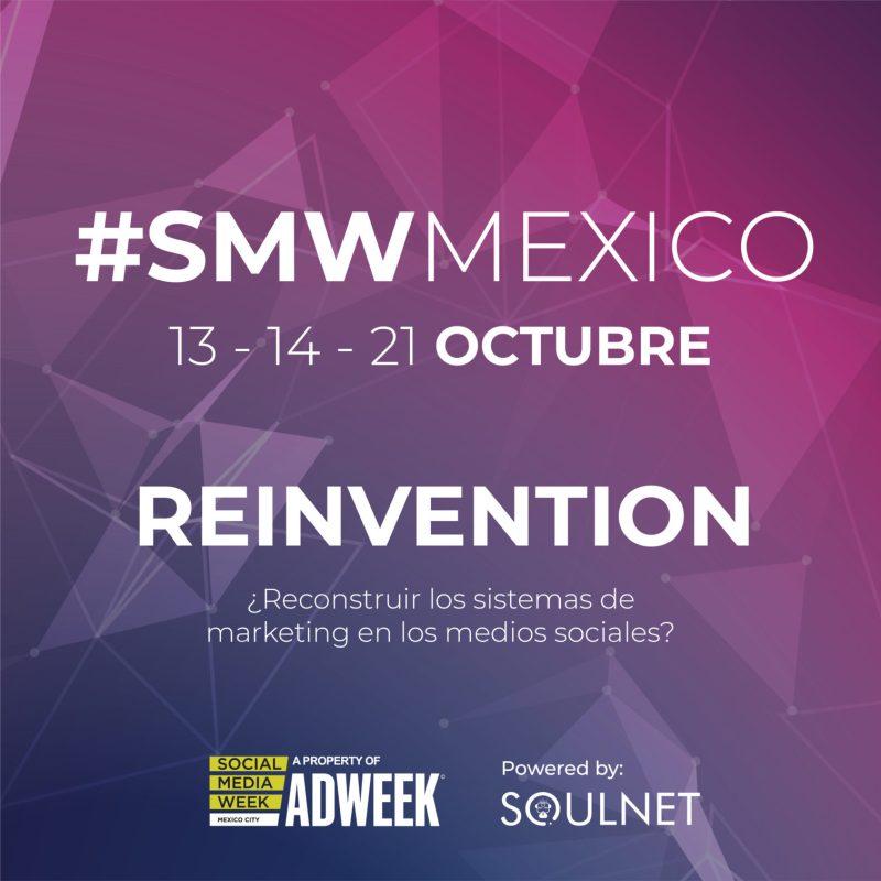 SocialMediaWeekMéxico: Reinventando el marketing para un mañana mejor - social-media-week-mexico-2021-1280x1280