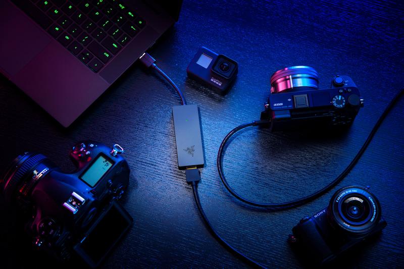 Línea de streaming Razer: webcam Kiyo X y tarjeta capturadora Ripsaw X - tarjeta-capturadora-ripsaw-x