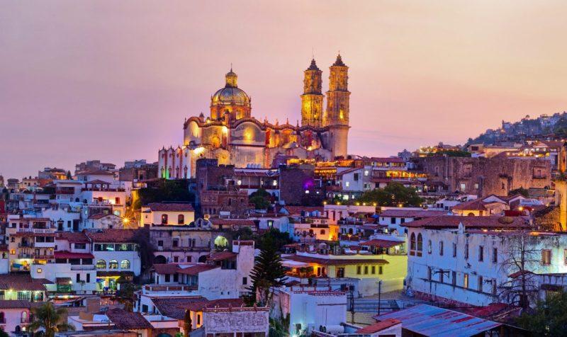 Los 10 Pueblos Mágicos en México más buscados - taxco-guerrero-1280x761