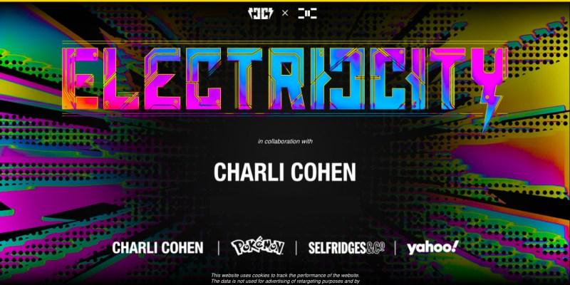 """Electric/City, entorno digital """"ciberpunk"""" creado por Yahoo e inspirado en el 25º aniversario de Pokémon - yahoo-pokemon-electro-city-1"""