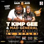 08/04 T KIMP GEE / MAD GENERAL / VYBZ MONIA AU DUPLEX A BORDEAUX 26