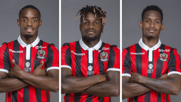 OGC NICE CHAMPION DE FRANCE DES ANTILLES 24