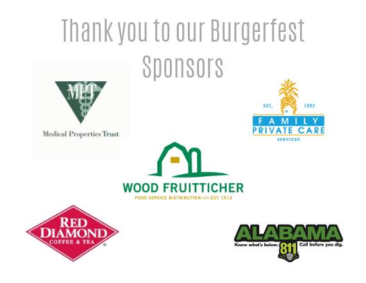 2019 Burgerfest sponsors
