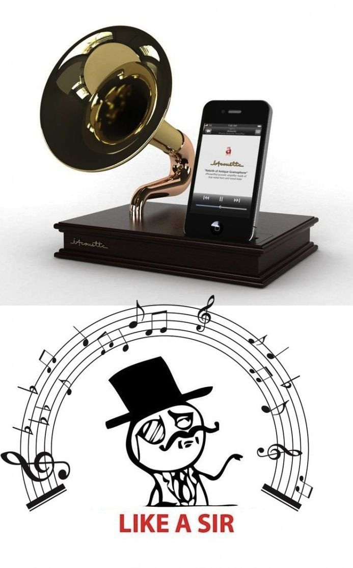 Escuchar msica Like a Sir con un iPhone