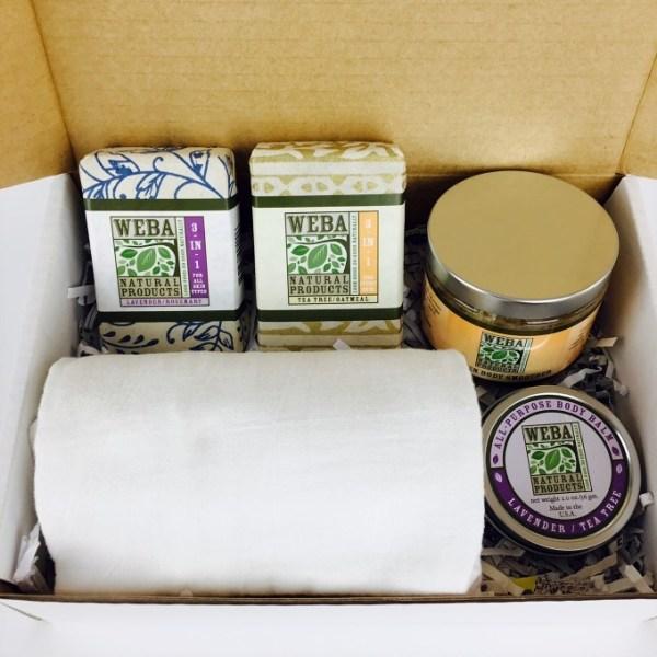 Healthy skin spa box option2
