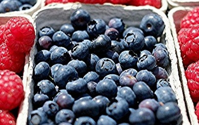 Berries and skin