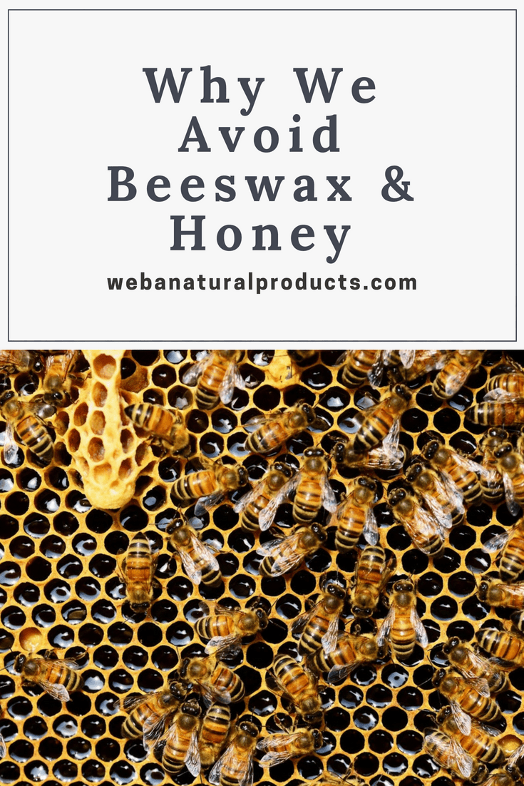 Beeswax Honey Pinterest graphic Blog Post