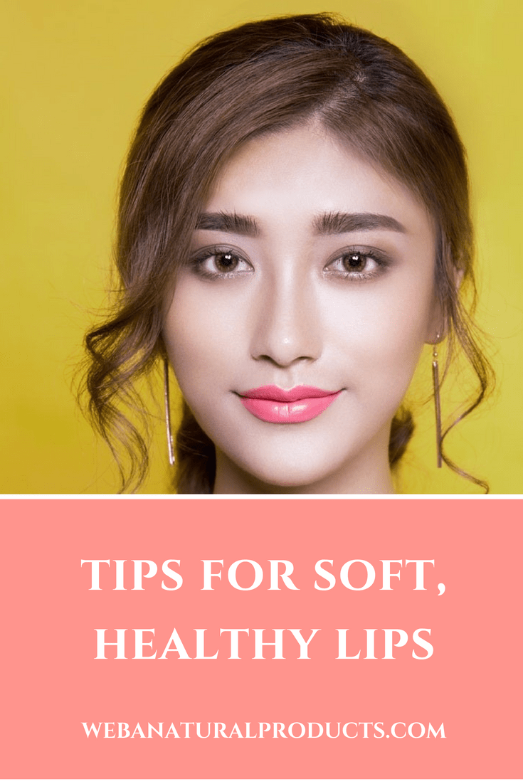 Tips for Soft Healthy Lips Blog Post