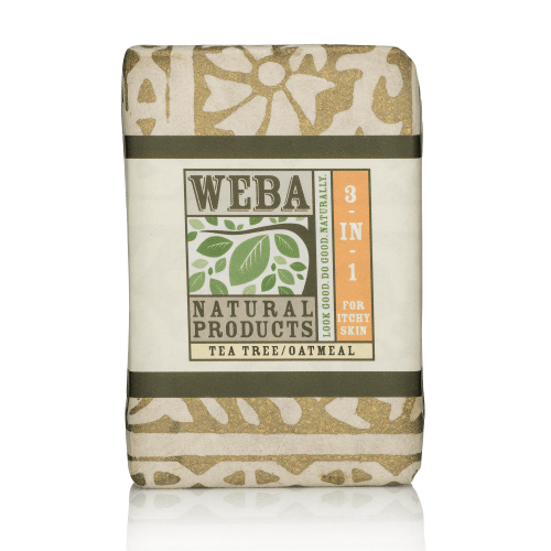 """""""Heal"""" botanical 3 in 1 bar soap with tea tree oil and oatmeal"""