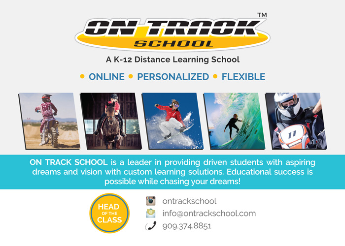 On Track School brochure by Web & Vincent