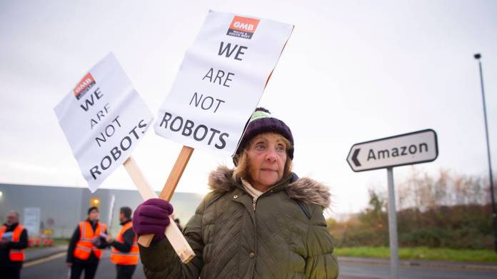 rodrik173_Matthew HorwoodGetty Images_jobsamazonprotest