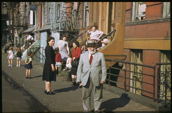 New York Clinton St. 1941