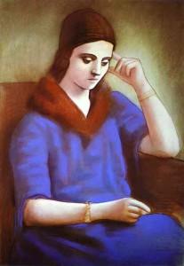 Olga Khokhlova by Picasso