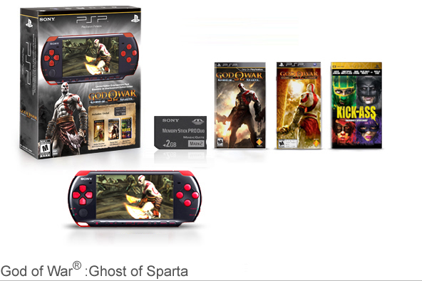 God of War®:Ghost of Sparta PSP® Entertainment Pack