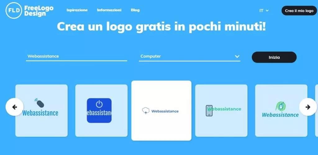 come creare un logo gratis con freelogodesign