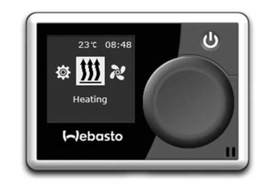 Панель управления Webasto Multicontrol
