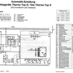 Webasto Heater Wiring Diagram 2001 Ford Explorer Exhaust System Home Eberspacher Thermo Top C