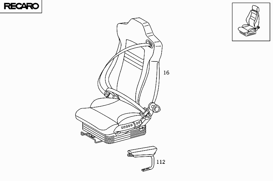 How to manually move a power seat mercedes