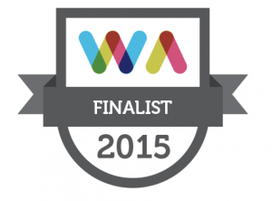 Irish Web Awards Finalist 2015