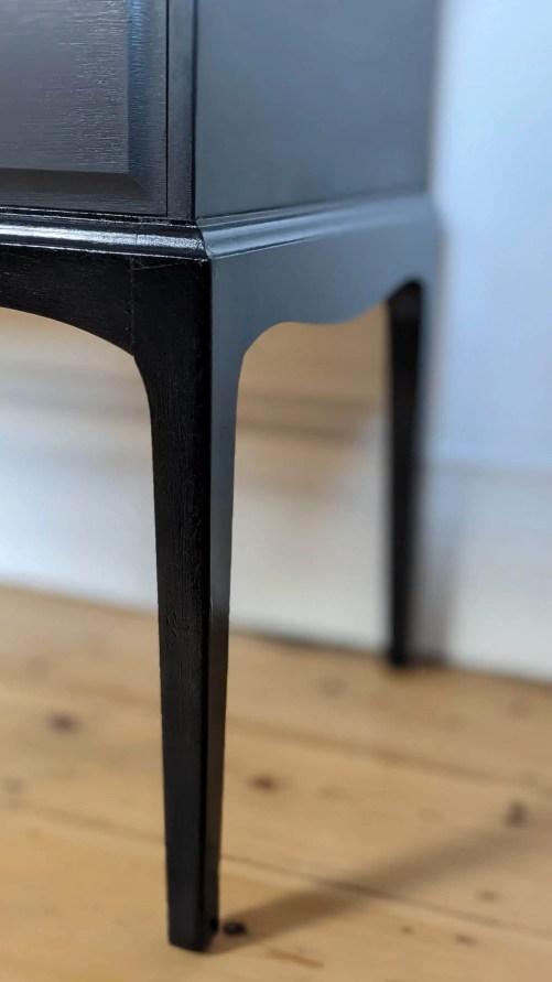 Raven leg detail