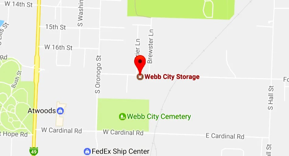 Webb City Storage | Webb City MO