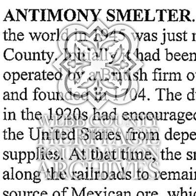 AntimonySmelter