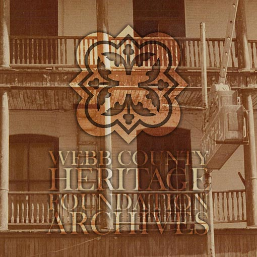 Picture of the Bender Hotel at Laredo, Texas
