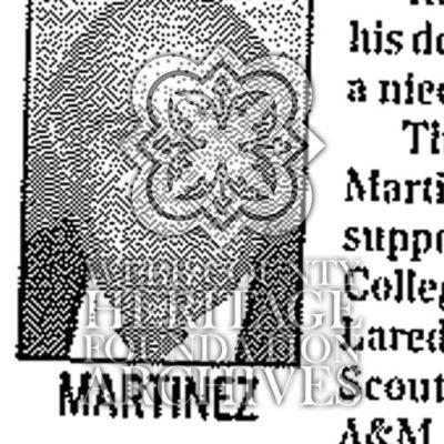 Obituary of Martinez, Guadalupe