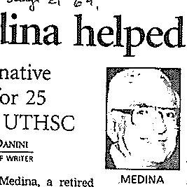 Obituary of Medina, Miguel A.
