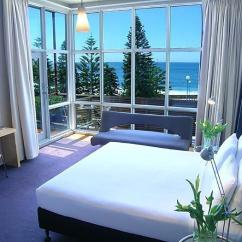 Compact Sofa Bed Australia Conversational Slipcovers Our Coogee Accommodation | Dive Hotel