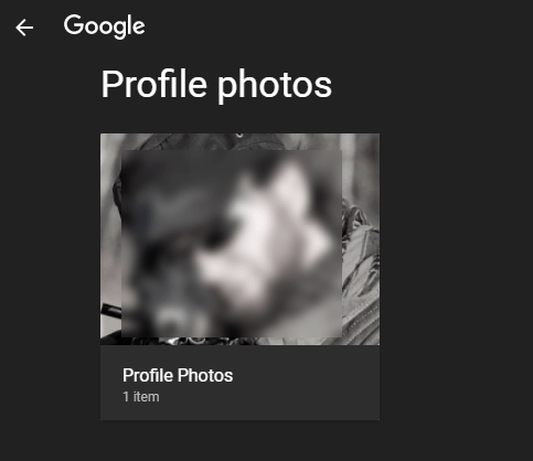 Taz's Google Profile Album