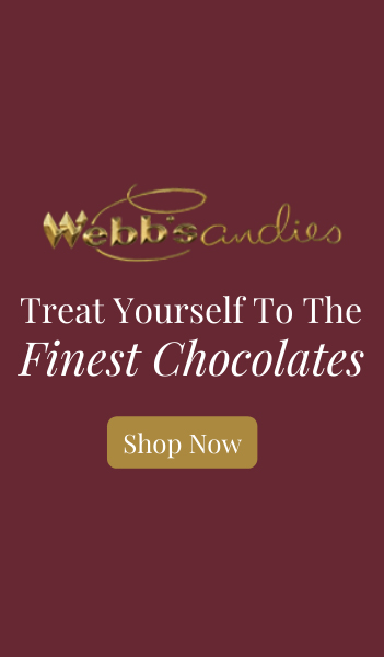 Webb's Candies Treat Yourself to the Finest Chocolate