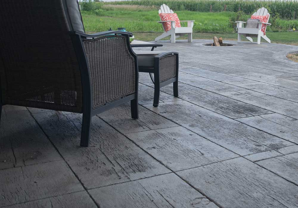 Webb Signature Concrete Stamped Concrete Patio