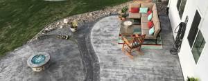 Webb Signature Concrete Decorative Outdoor Patio