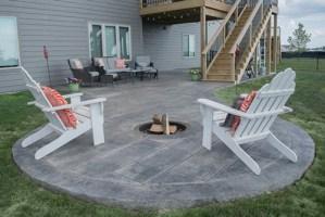 Webb Signature Concrete Custom Stamped Outdoor Patio